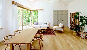 綺麗な住宅の内装の画像